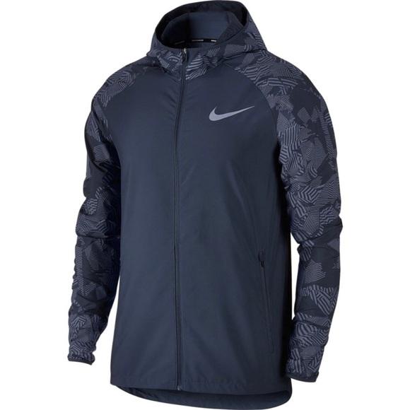 54529e2ba01b6 Nike Jackets & Coats | Essential Flash Reflective Running Jacket ...